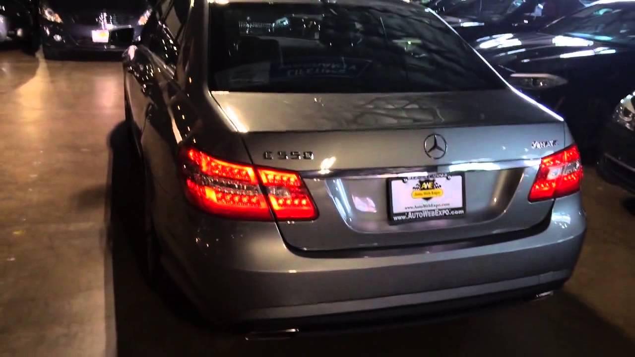 Loaded 2012 Mercedes-Benz E550 sedan AMG wheels premium 1 ...