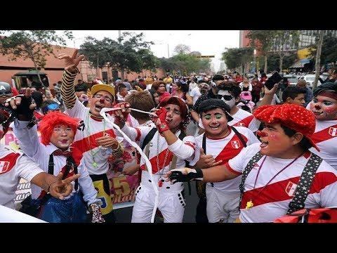 شاهد يوم المهرج في البيرو  - نشر قبل 46 دقيقة
