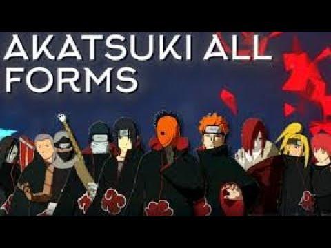 ALL AKATSUKI SCROLL SPAWNS!! ROBLOX NRPG  BEYOND