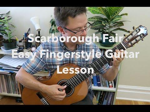 Lesson & Free PDF: Scarborough Fair for Easy Guitar