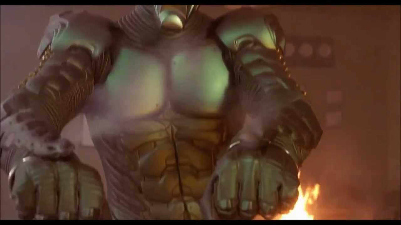 Green Goblin Puts Spider Man To Sleep