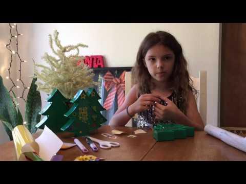 Dollar Tree Merry & Bright Christmas Tree Cricut Tutorial
