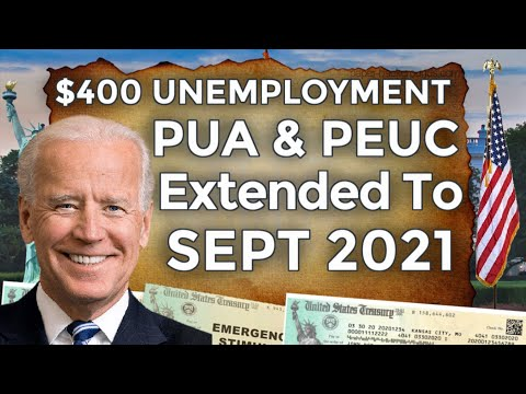 JUST IN!! $400 UNEMPLOYMENT BENEFITS EXTENSION UPDATE LWA PUA PEUC FPUC PROPOSED BILL 11 WEEKS STATE