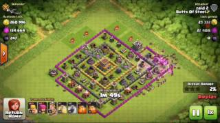HOW TO USE BARCH+FIND EASY LOOT(CLASH OF CLANS)