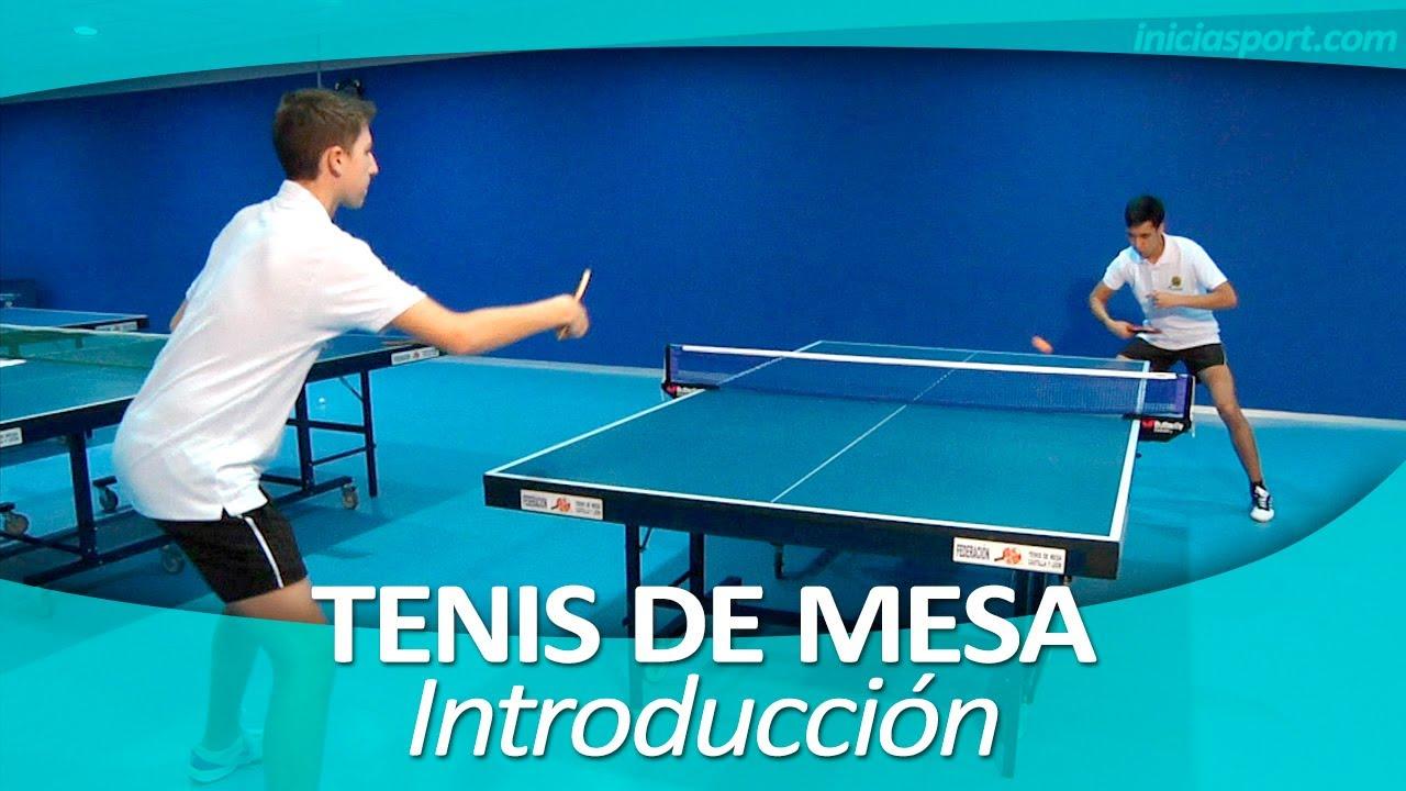 tenis de mesa 1 introducci n youtube