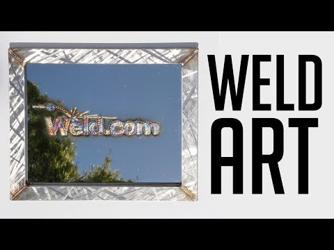 How To Make Stainless Weld Art (featuring @dabswellington)