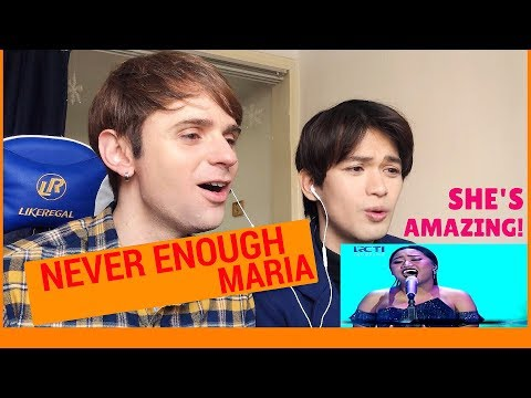 Maria Never Enough Reaction (Indonesian Idol Spekta Show Top 7)