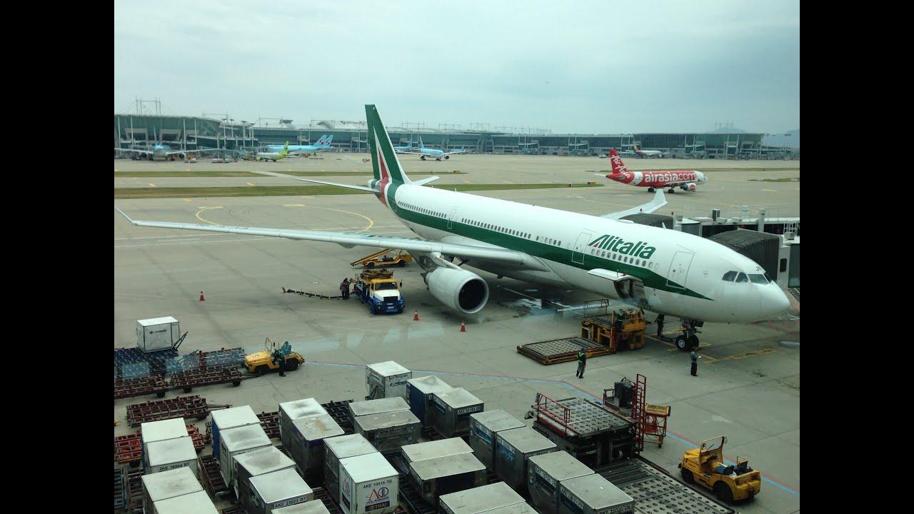 Alitalia A330 200 Takeoff Icn Incheon Airport Youtube