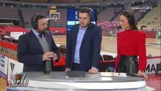Pre Game Show  Super Euroleague Ολυμπιακός-Χίμκι, Τετάρτη 18/12