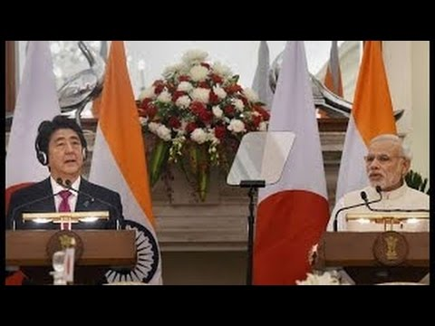 India and Japan sign civil nuclear deal