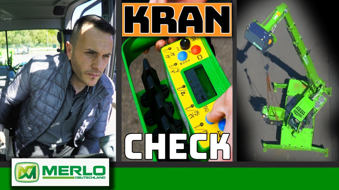 Merlo: Der flexiblere Kran? (Check Roto Teleskoplader im Einsatz mit Seilwinde & Funkfernsteuerung)