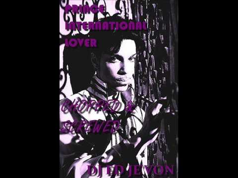 Prince   International Lover Chopped & Screwed DJ Ed Je'von
