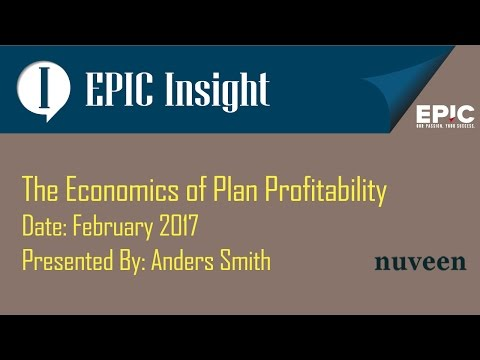 The Economics of Plan Profitability