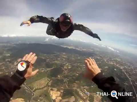 Прыгнуть с парашютом в Паттайе, Таиланд