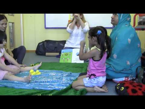Sensory storytelling helps children with a learning disability to communicate