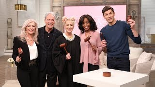 """Famous Courtroom Quiz"" with the 'Hot Bench' Judges - Pickler & Ben"