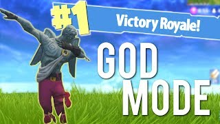 GOD MODE in Fortnite Battle Royale