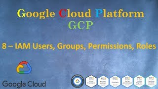 8.GCP - Права доступа - IAM Users Groups Permissions Roles