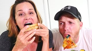Gross Pizza Challenge   HOT, SWEET, SOUR, GUMMY Pizza  (DCTC Challenges)