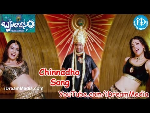 Brindavanam Movie Songs - Chinnadho Song - NTR Jr - Kajal Aggarwal - Samantha