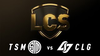 TSM vs. CLG - Week 8 Day 2 | LCS Spring Split | TSM vs. Counter Logic Gaming (2019)