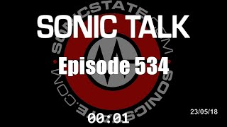 Sonic TALK 534 - Killing  A Mosquito With A Phonebook