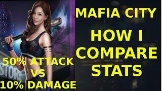 How I compare stats - Mafia City
