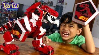 Robot Dinosaurus TYRANNOTOOTH Keren..!!! 😱😱😱
