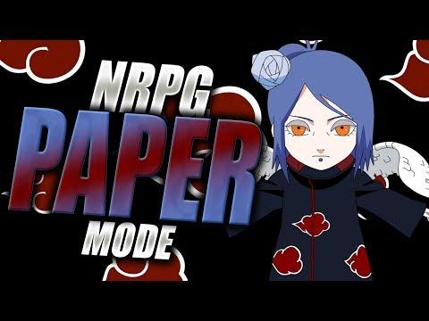 PAPER NINJUTSU! Konan Akatsuki Scroll in Naruto RPG Beyond | iBeMaine