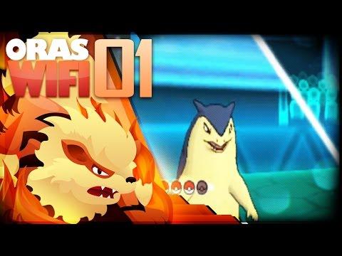 Pokemon ORAS WiFi Battle w/CrimsonCBAD #01 vs Hamza: This Layout is Powerful!