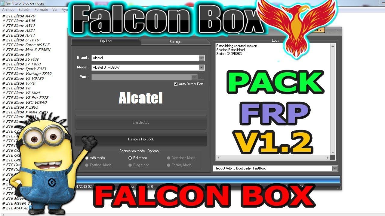 PACK FRP 1 2 FALCON BOX by Bolivar Eliezer Matos Florian