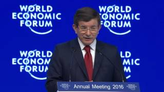 Davos 2016 - Turkey's Global Role