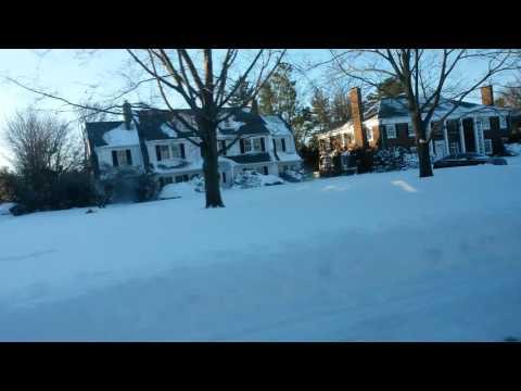 "NEW YORK GARDEN CITY HEAVY SNOW """
