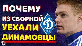 Почему футболисты Динамо Киев покинули сборную Украины перед Чехией Новости футбола сегодня