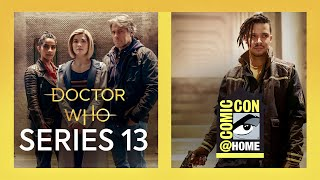 Doctor Who: Series 13 | Comic-Con@Home 2021 Highlights | Trailer, Photos & Jacob Anderson as Vinder!