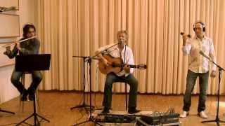 """Thilo Martinho """" Von Raum Zu Raum """" - Domingo Patricio (flute), José Cortijo (percussion)"""