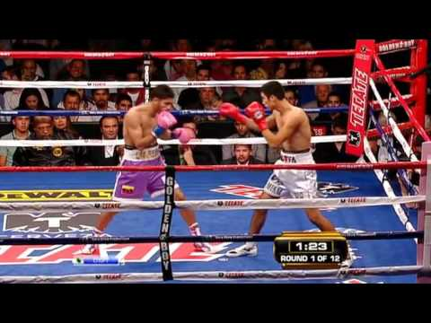 Antonio DeMarco vs Jorge Linares (15.10.2011) Гендлин мл.