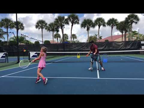 Intense TENNIS TRAINING with Coach Dabul
