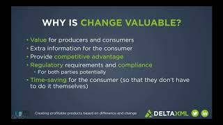 Creating Profitable Products Based on Difference and Change - DCL Learning Series Webinar
