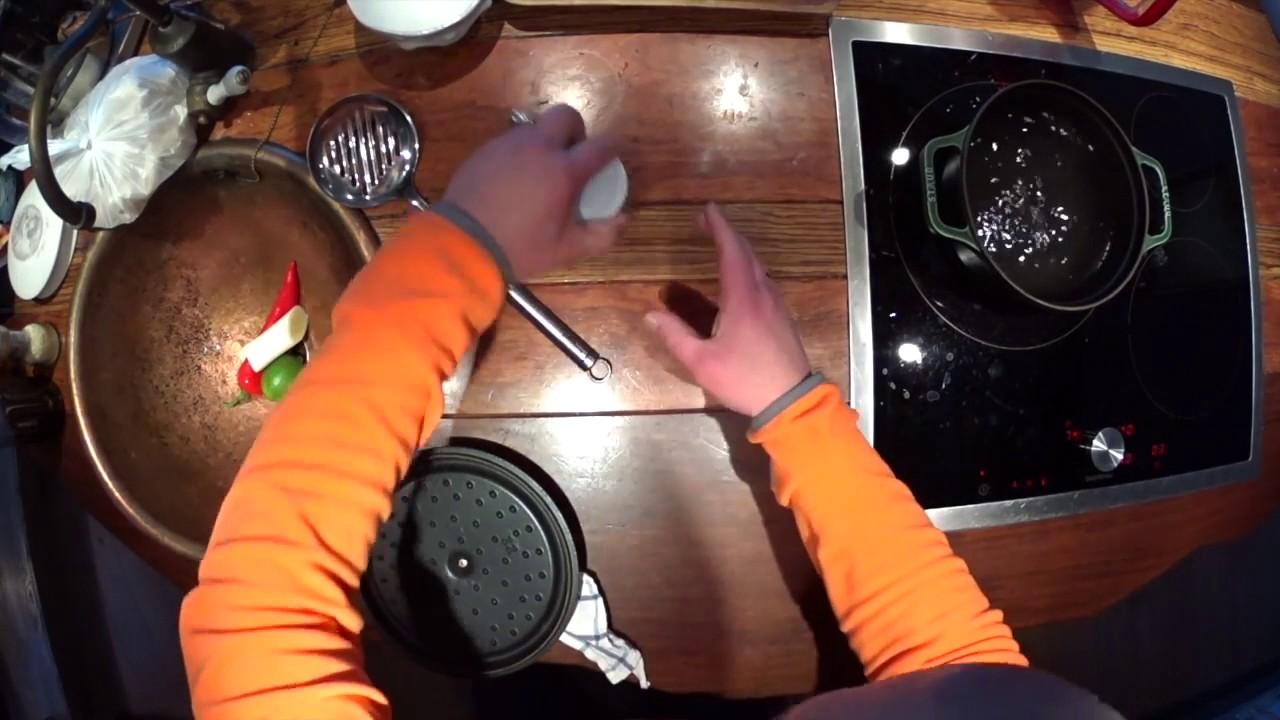 А.Кочергин: 2. [Золотая осень] - Восточный бульон для рыбных пельменей (31.01.2017)