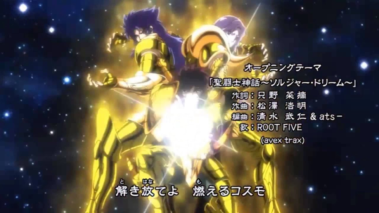 Saint Seiya Soul Of Gold Opening Soldier Dream Classic Version