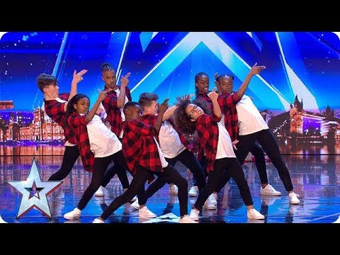 The next generation of dance legends? Meet DVJ... | Auditions Week 1 | Britain's Got Talent 2018 - Видео с YouTube на компьютер, мобильный, android, ios