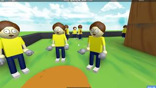 uh created a map of pocket mortys in roblox