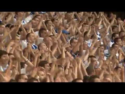 Lech Poznań - Żetysu Tałdykorgan  2:0 -  Kibice Kolejorza, Stadion W Poznaniu, Super Atmosfera!