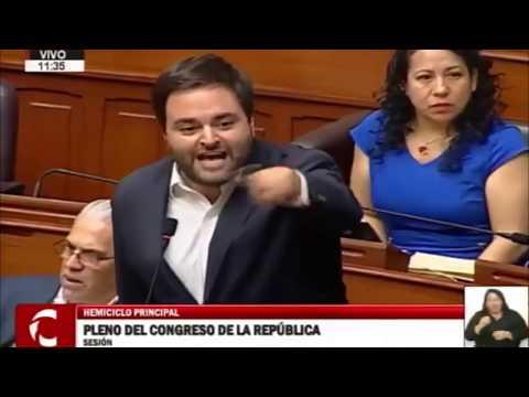 """Alberto de Belaunde: Acusó a Fuerza Popular de tener un """"pacto de impunidad"""" con Chávarry"""