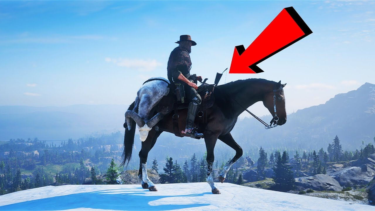 Red Dead Redemption 2 - Funny Moments Compilation! #6