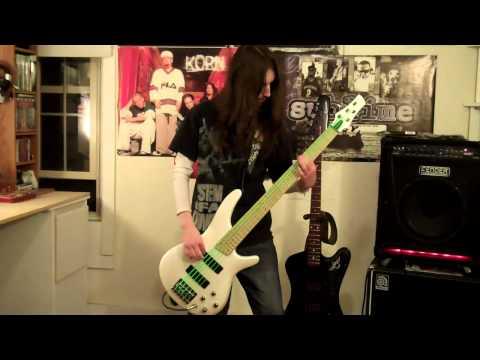 Korn Got The Life Bass Cover