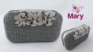 Clutch Melissa all'uncinetto | Clutch crochet