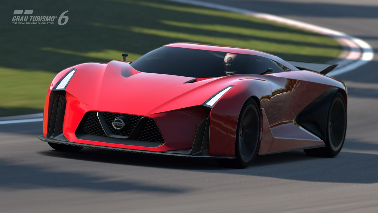NISSAN CONCEPT 2020 Vision GT Testing in Nurburgring - YouTube