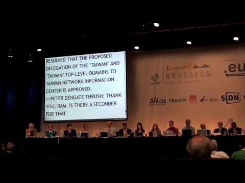 ICANN Board Brussels IDN
